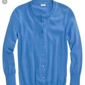 Jcrew Clare cardigan xxs blue
